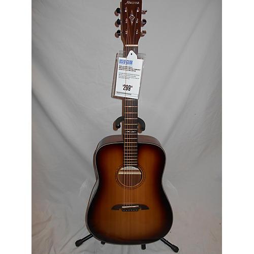 Alvarez AD610 Dreadnought Acoustic Electric Guitar-thumbnail