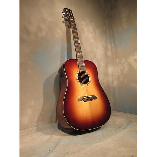 Alvarez AD610 Dreadnought Acoustic Guitar-thumbnail