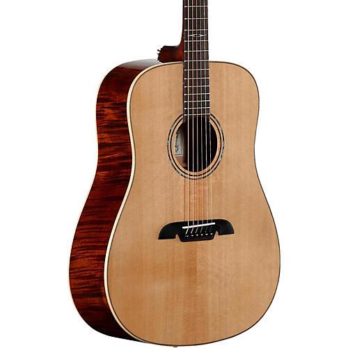 Alvarez AD610EFM Limited Edition Dreadnought Acoustic-Electric Guitar Natural-thumbnail