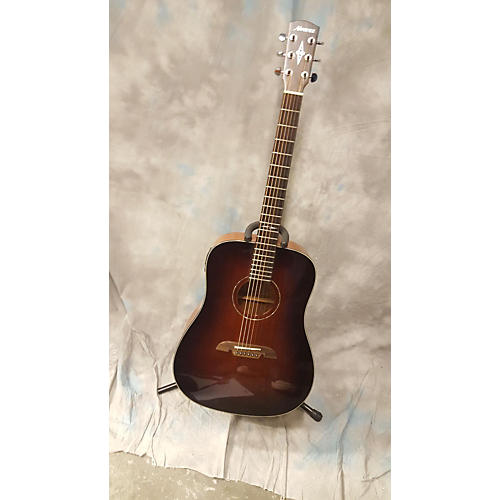 Alvarez AD660ESB Dreadnought Acoustic Electric Guitar-thumbnail