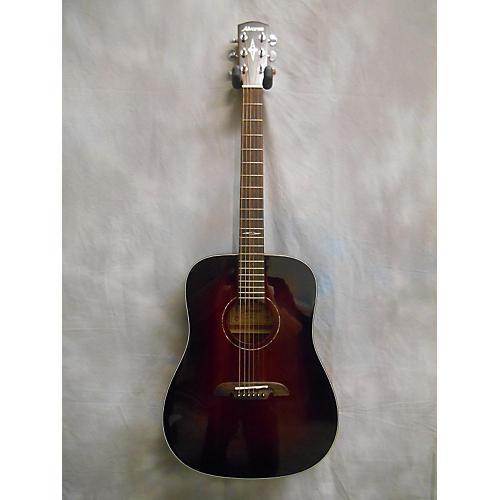Alvarez AD660ESB Dreadnought Acoustic Electric Guitar-thumbnail