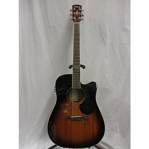 Alvarez AD660ESB Dreadnought Acoustic Electric Guitar