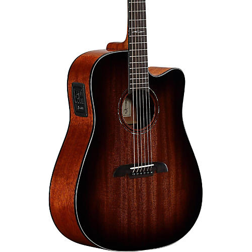 Alvarez AD66CESHB Dreadnought Acoustic-Electric Guitar-thumbnail