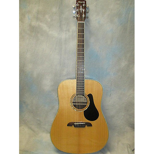 Alvarez AD70 Dreadnought Acoustic Guitar-thumbnail
