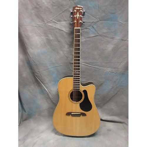Alvarez AD710CE Artist Series Dreadnought Acoustic Electric Guitar