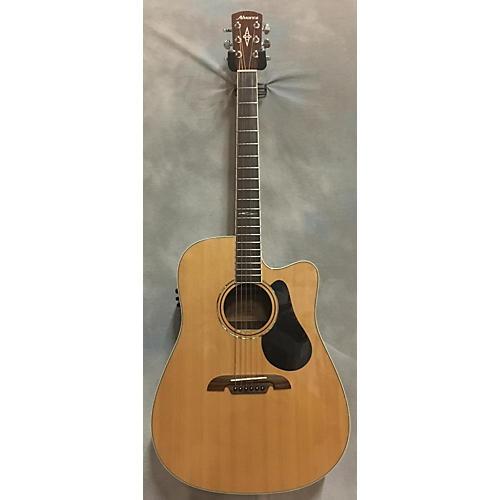 Alvarez AD710CE Artist Series Dreadnought Acoustic Electric Guitar-thumbnail
