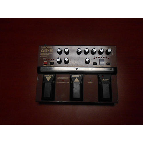 Boss AD8 Acoustic Guitar Processor Effect Processor-thumbnail