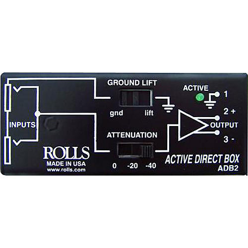 Rolls ADB2 Phantom Direct Box-thumbnail
