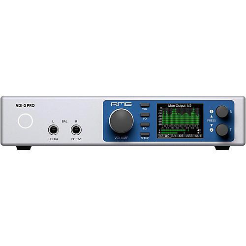 RME ADI-2 Pro USB 2.0 24 Bit / 768 kHz, 2 in / 4 out Hi-Performance AD/DA Converter-thumbnail