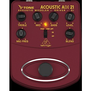 Behringer ADI21 V-Tone Acoustic Driver Direct Recording Preamp/DI Box