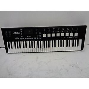 Pre-owned Akai Professional ADVANCE 61 Keyboard Workstation