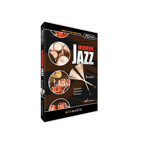 XLN Audio ADpak Jazz Brushes - Expansion Pack for Addictive Drums-thumbnail