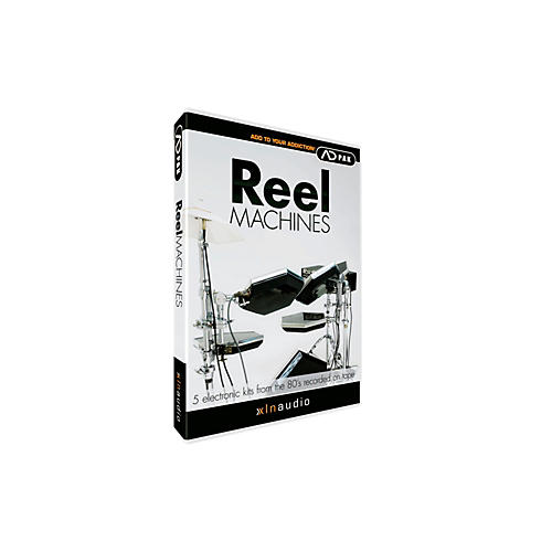 XLN Audio ADpak Reel Machines - Expansion Pack for Addictive Drums-thumbnail
