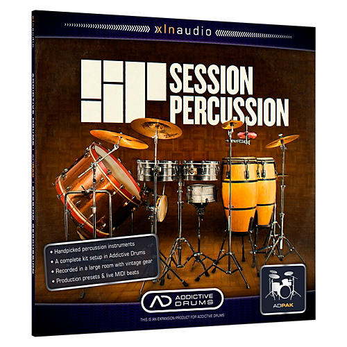 XLN Audio ADpak Session Percussion - Expansion Pack for Addictive Drums