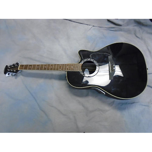 In Store Used AE227 Black Acoustic Electric Guitar