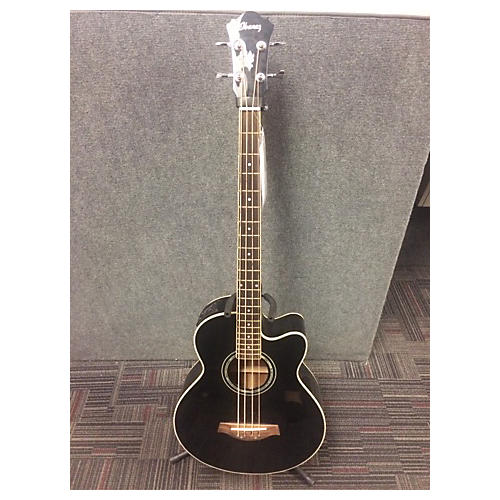 Ibanez AEB10-bK-14-03 Acoustic Bass Guitar