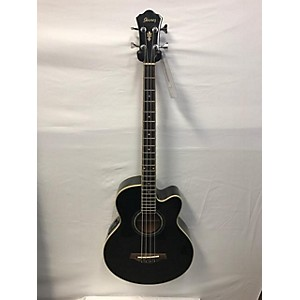 Pre-owned Ibanez AEB10E-BK Acoustic Bass Guitar