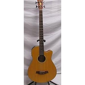 Pre-owned Ibanez AEB30-LG-OP-1 Acoustic Bass Guitar