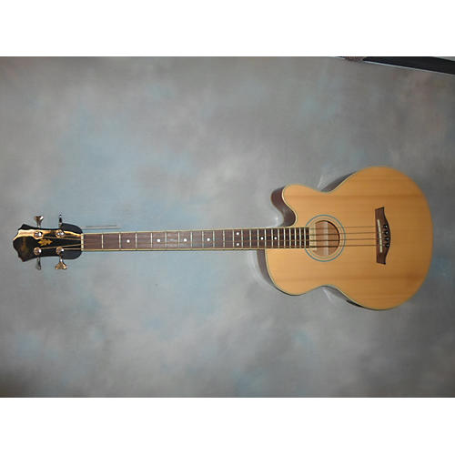 Ibanez AEB5E Natural Acoustic Bass Guitar