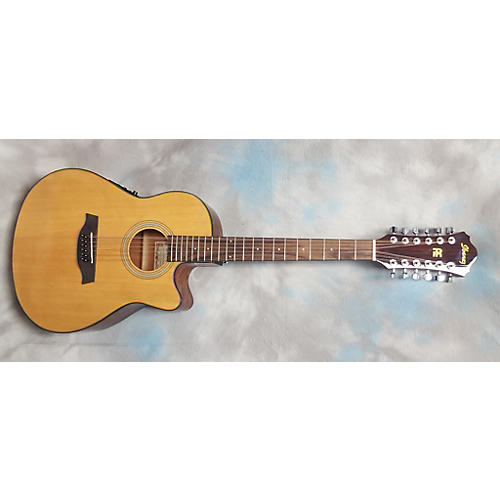 Ibanez AEF1512E-NT 12 String Acoustic Electric Guitar-thumbnail