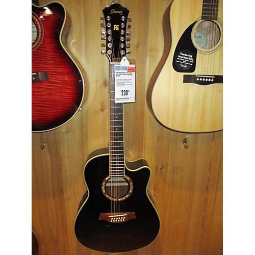 used ibanez aef1812e 12 string acoustic electric guitar guitar center. Black Bedroom Furniture Sets. Home Design Ideas