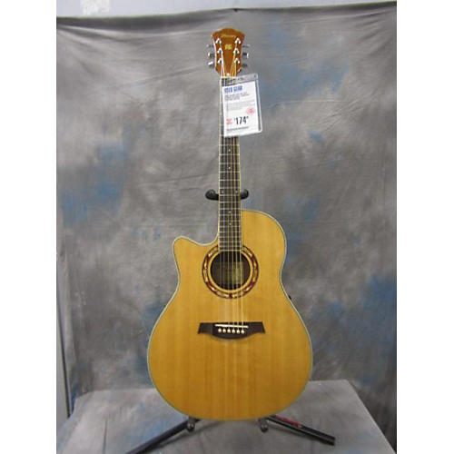 Ibanez AEF18E Left Handed Acoustic Electric Guitar-thumbnail