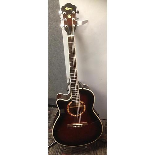used ibanez aef18e left handed acoustic electric guitar guitar center. Black Bedroom Furniture Sets. Home Design Ideas