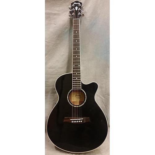 Ibanez AEG10E Black Acoustic Electric Guitar