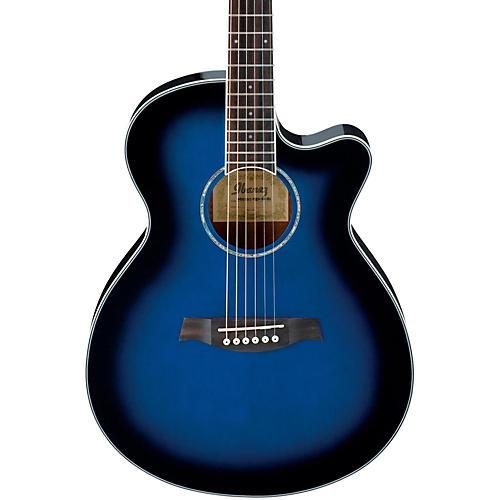 Ibanez AEG10II Cutaway Acoustic-Electric Guitar-thumbnail