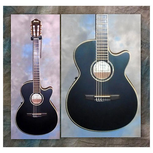Ibanez AEG10NE Classical Acoustic Electric Guitar Black