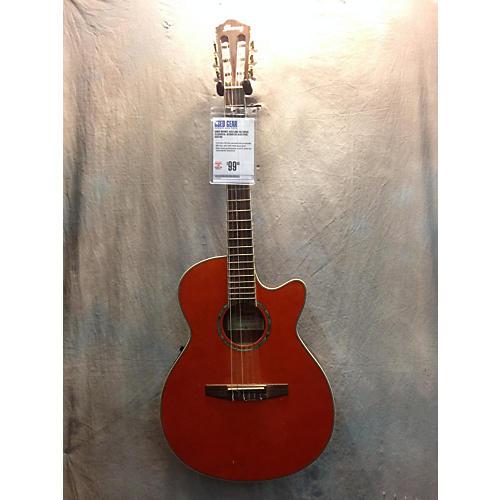 Ibanez AEG10NE Natural Classical Acoustic Electric Guitar-thumbnail