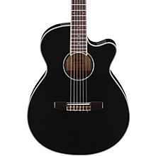 AEG10NII Nylon String Cutaway Acoustic-Electric Guitar Black
