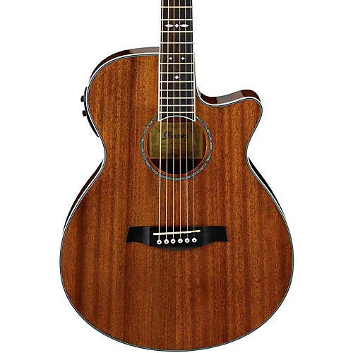 ibanez aeg12ii nt acoustic electric guitar natural guitar center. Black Bedroom Furniture Sets. Home Design Ideas