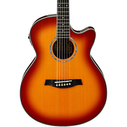 Ibanez AEG18II Cutaway Acoustic Electric Guitar Antique Violin Sunburst