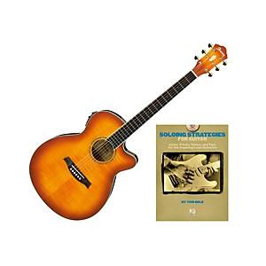 Ibanez AEG20II Acoustic Guitar Bundle by Ibanez