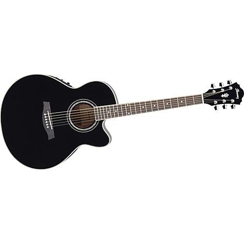 Ibanez AEL10E Cutaway Acoustic-Electric Guitar-thumbnail