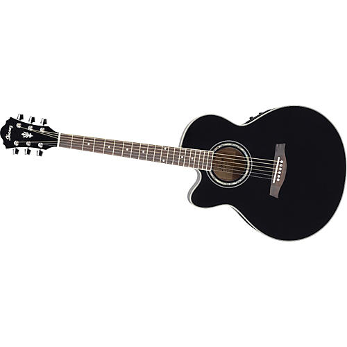 Ibanez AEL10LE Left-Handed Acoustic-Electric Guitar with Onboard Tuner-thumbnail