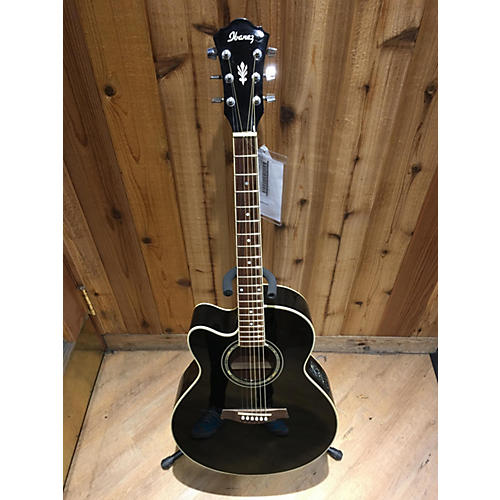 Ibanez AEL10LEBK1401 Acoustic Electric Guitar-thumbnail