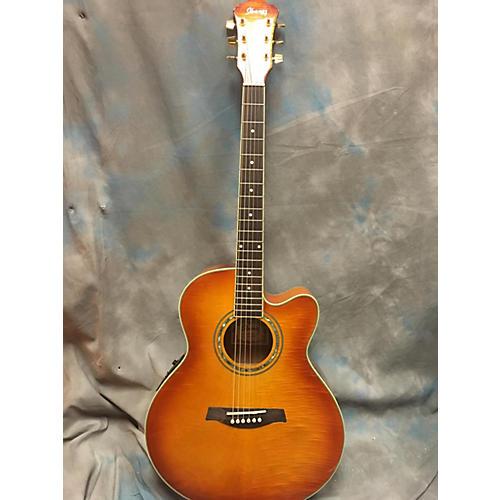 Ibanez AEL20E-VV-14-02 Acoustic Electric Guitar Vintage Burst