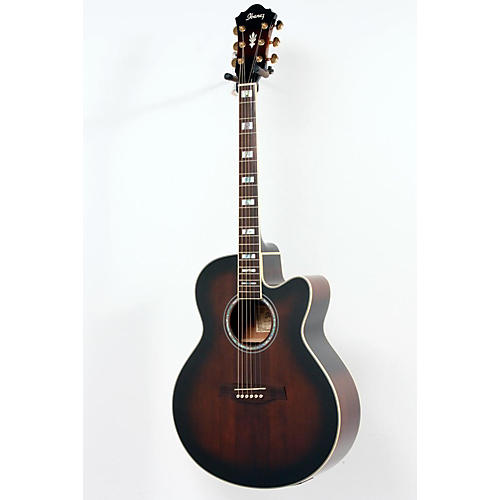 Ibanez AEL30SE Acoustic Electric Guitar Dark Violin Sunburst 886830981968