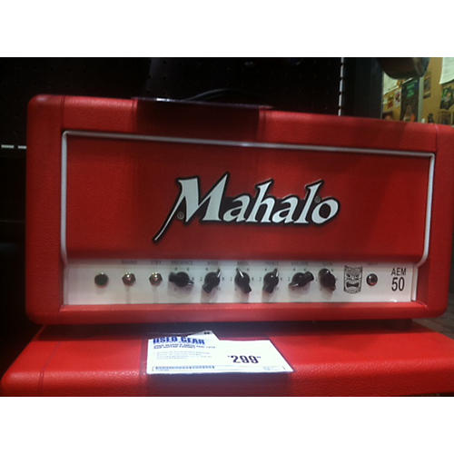 Mahalo Amps AEM50 Tube Guitar Amp Head-thumbnail