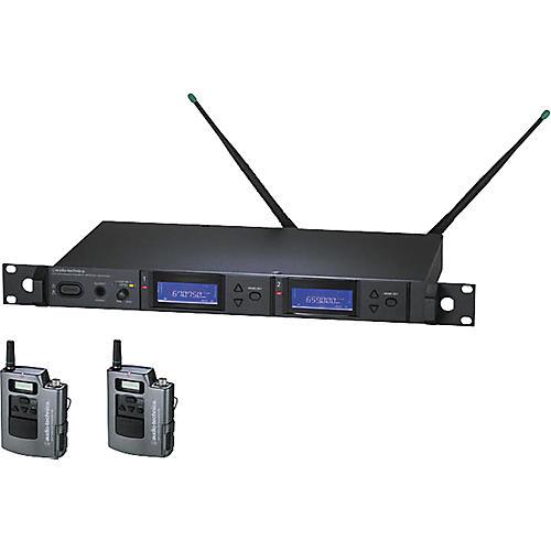 Audio-Technica AEW-5111 Artist Elite Dual Receiver UniPak Wireless System-thumbnail