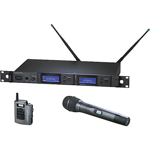 Audio-Technica AEW-5313 Artist Elite Dual Receiver Handheld Wireless System