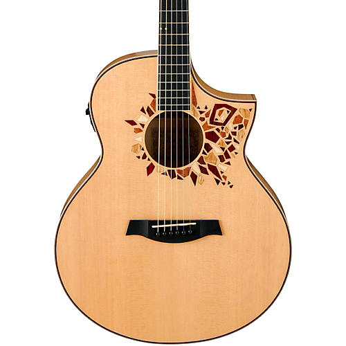 Ibanez AEW15LTD Limited Edition Dreadnought Acoustic-Electric Guitar-thumbnail