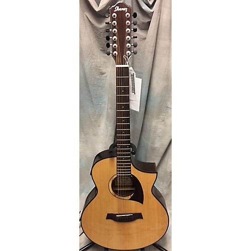used ibanez aew2212cd nt1201 12 string acoustic electric guitar guitar center. Black Bedroom Furniture Sets. Home Design Ideas