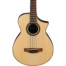 Ibanez AEWB32 Short Scale Acoustic-Electric Bass Guitar