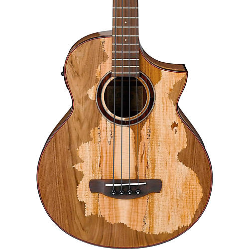 Ibanez AEWB50 Limited Edition Exotic Wood Acoustic-Electric Bass Guitar Natural