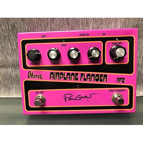 Ibanez AF2 Paul Gilbert Airplane Flanger Effect Pedal
