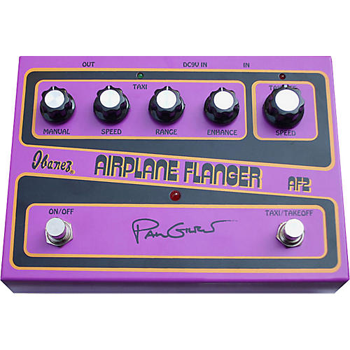 Ibanez AF2 Paul Gilbert Signature Airplane Flanger Guitar Effects Pedal-thumbnail