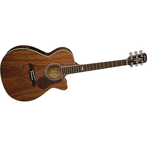 Alvarez AF222C Artist Cutaway Folk Acoustic-Electric Guitar with System 600 Mk II